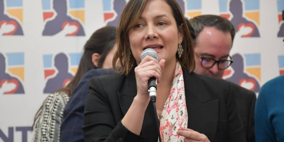 ¿Molestia en el Centro Democrático por la victoria de Ángela Garzón?
