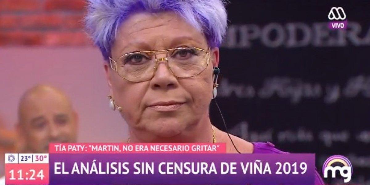 """Patricia Maldonado criticó sin piedad la primera jornada de Viña 2019: """" Me dio vergüenza"""""""