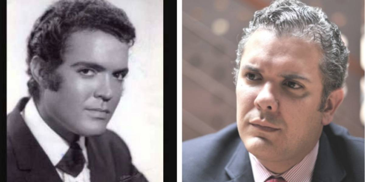 El impresionante parecido de Duque con cantante español de los años 50
