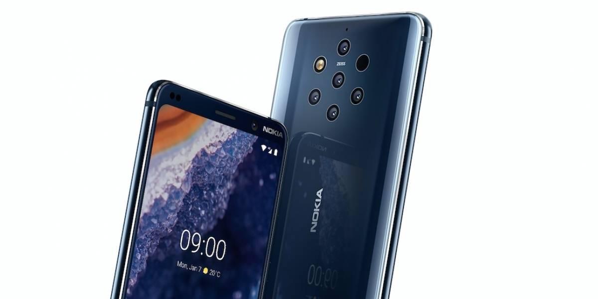 Nokia vuelve recargado y presenta smartphone con cinco cámaras