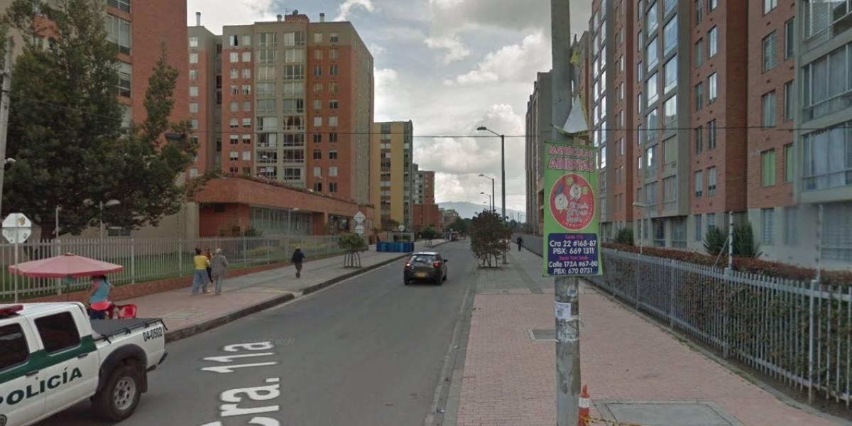 Evacúan 40 apartamentos por caída de bloques en el norte de Bogotá
