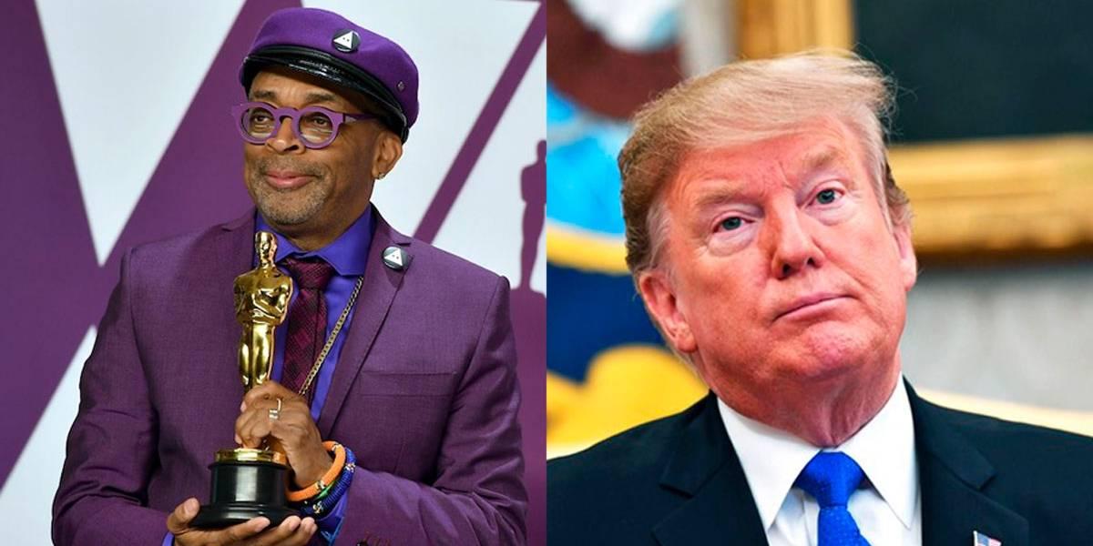 Trump acusa 'ataque racista' em discurso de Spike Lee no Oscar 2019