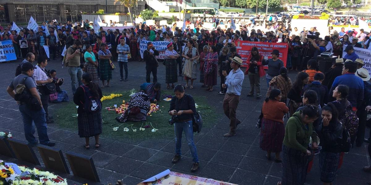 Conmemoran el Día de la dignidad de las víctimas del conflicto armado interno