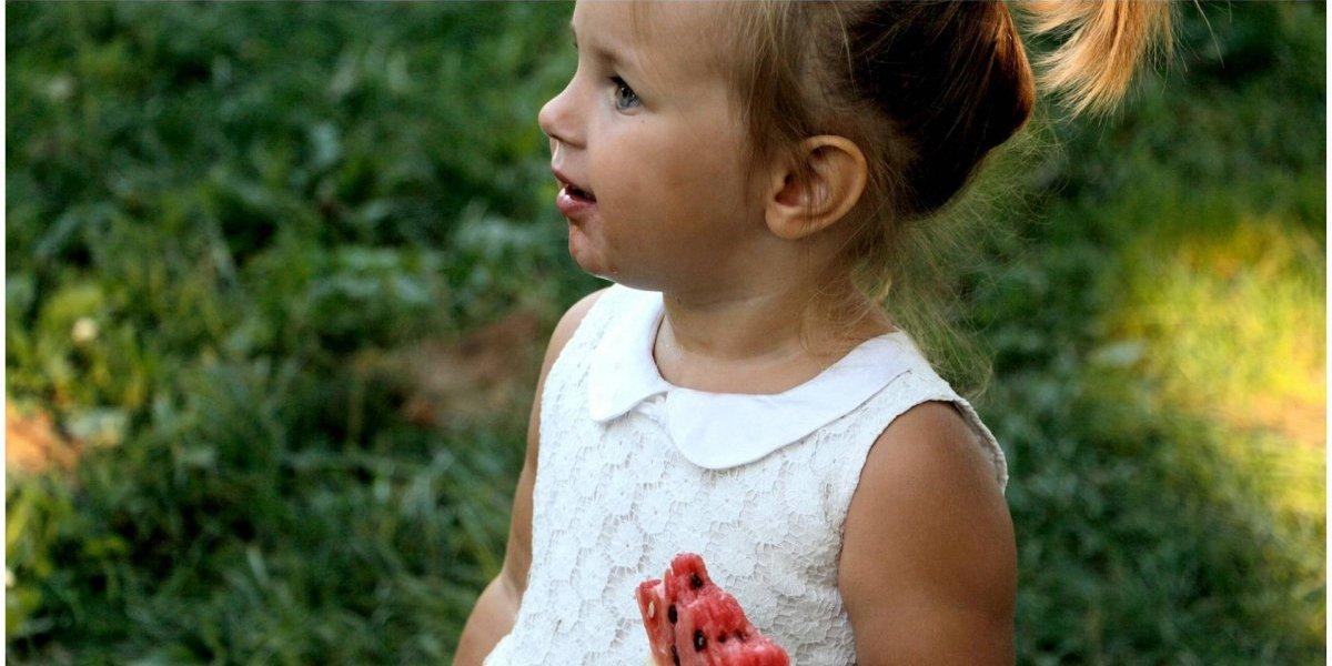 Isso é o que passa às crianças quando elas começam a comer frutas e vegetais
