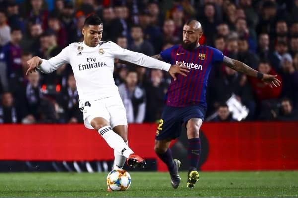 Vidal animará el derby español como mayor atractivo /Imagen: Getty Images