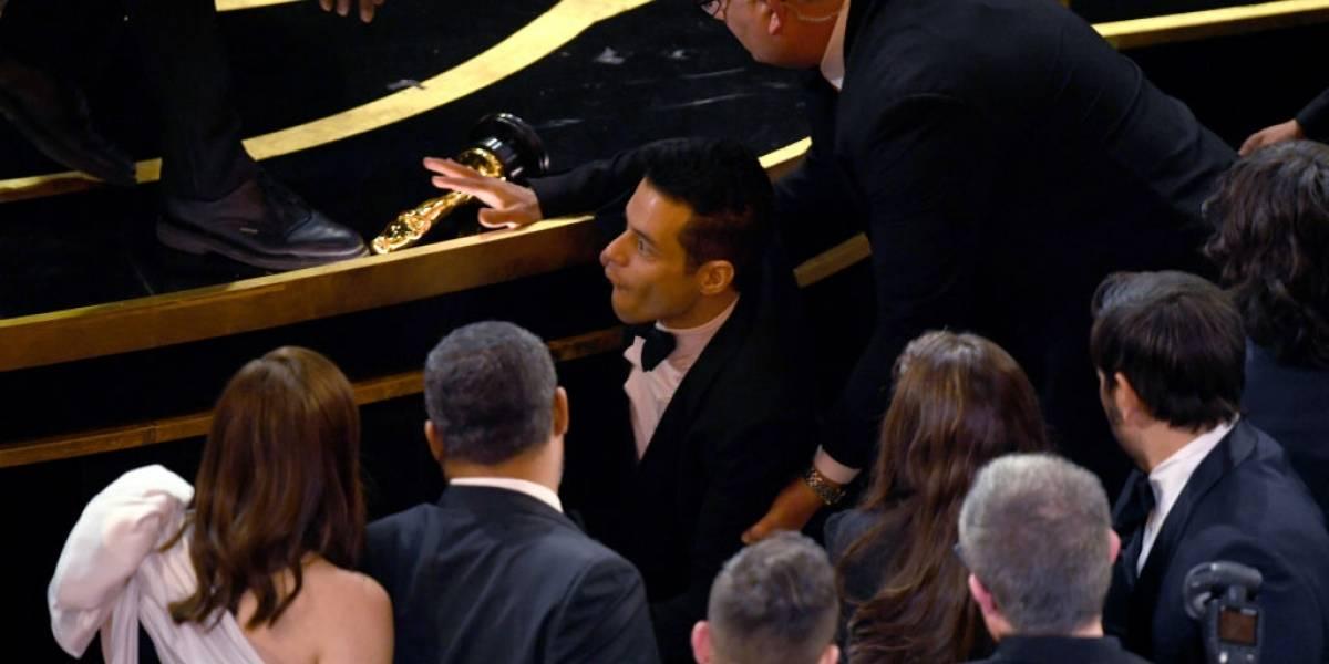 Oscar 2019: Rami Malek foi levado para a enfermaria logo após receber prêmio