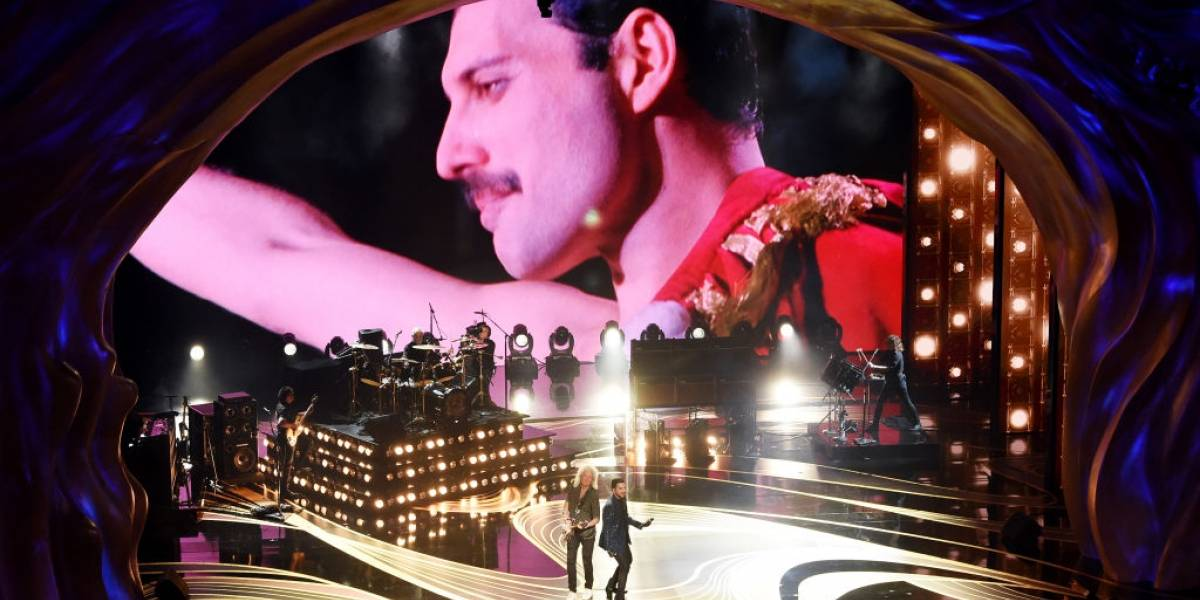 Perdeu a abertura do Oscar? Assista a performance da banda Queen, com Adam Lambert no vocal