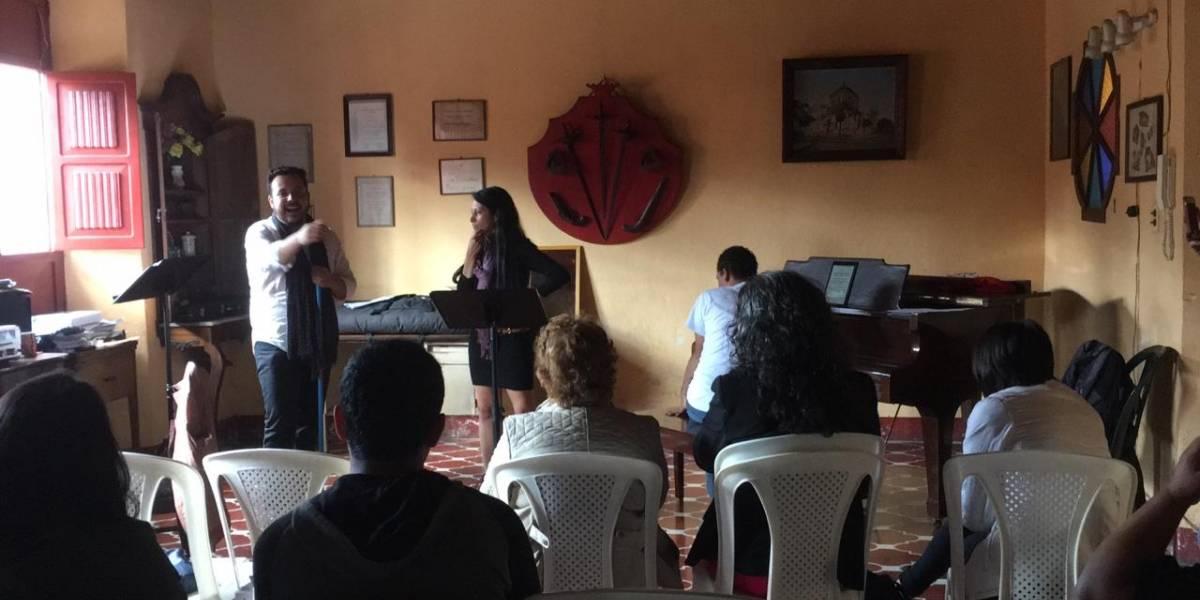 Jóvenes cantantes guatemaltecos invitan a concierto de Ópera en Casa Mandarina