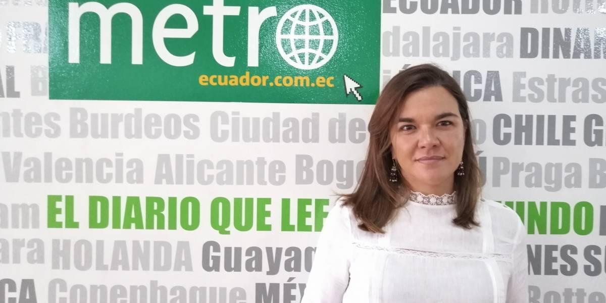 """Ana María Armijos: """"Soy muy trabajadora y voy a exigir que mis compañeros trabajen"""""""
