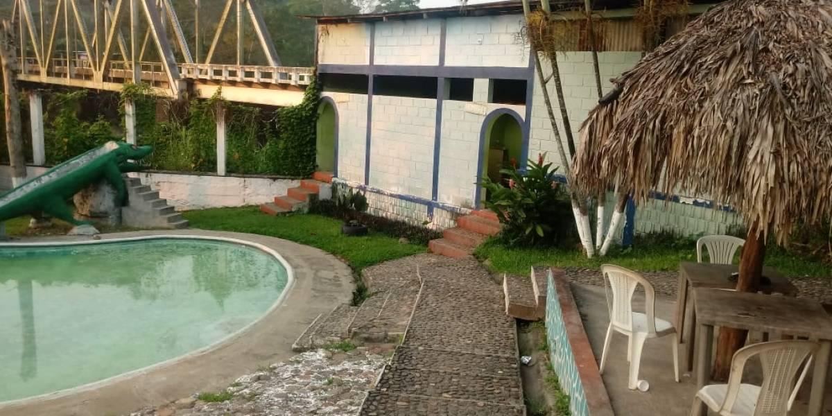 Localizan narcolaboratorio en turicentro de Malacatán