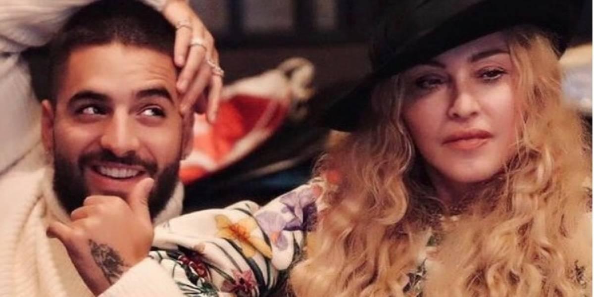 Madonna y Maluma confirman dúo y así reaccionan los seguidores