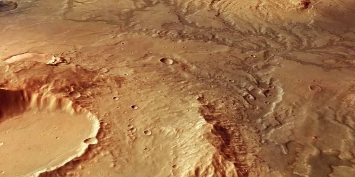 ¿Foto de arañas en Marte? publican imágenes tomadas por nave rusa en su tercer aniversario orbitando el planeta