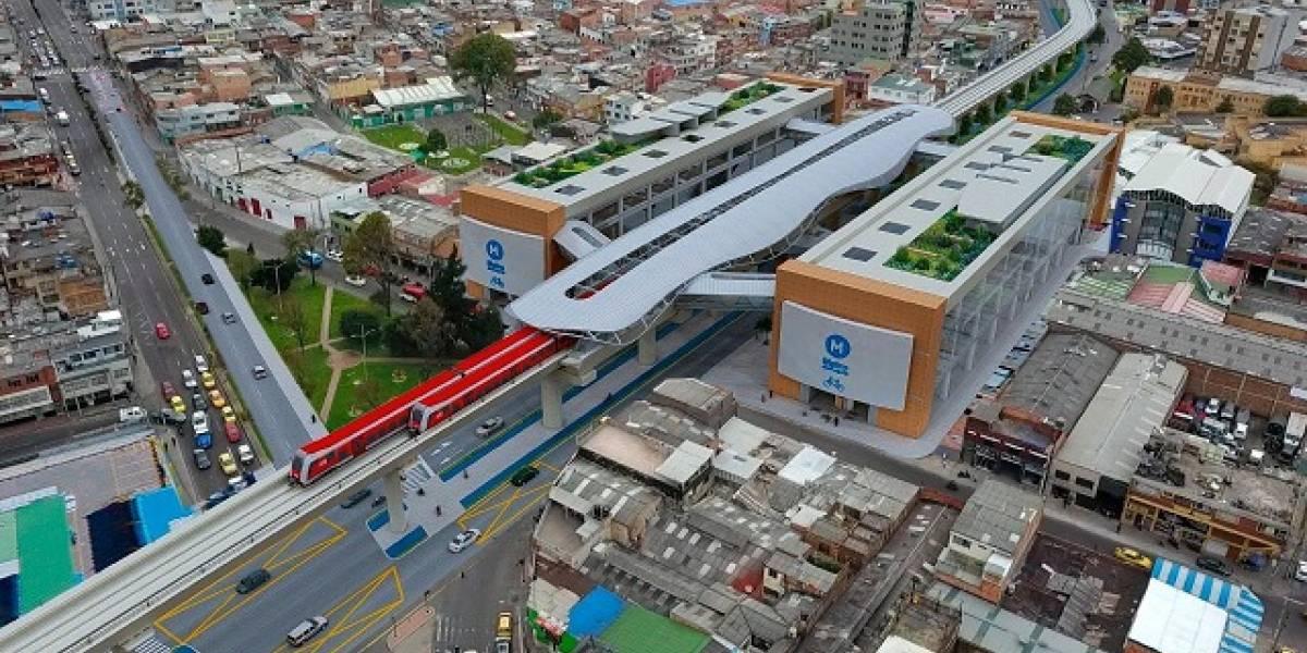 Estas serían las 16 estaciones del Metro de Bogotá