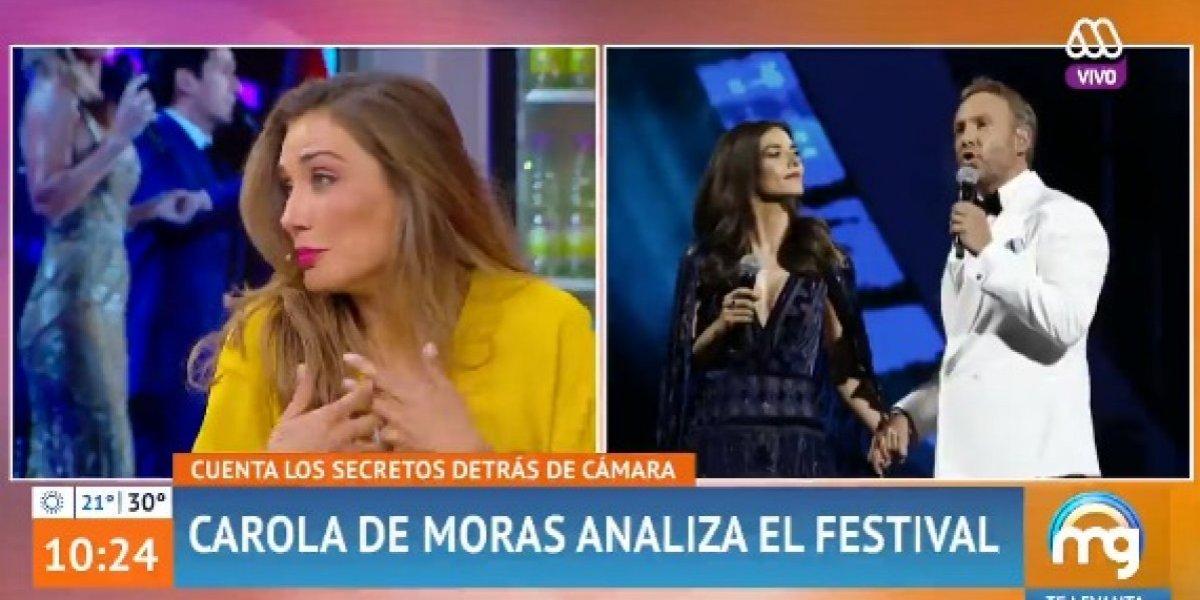 """Carola de Moras arremetió contra María Luisa Godoy y Tonka Tomicic pero fue tildada de """"picada"""""""