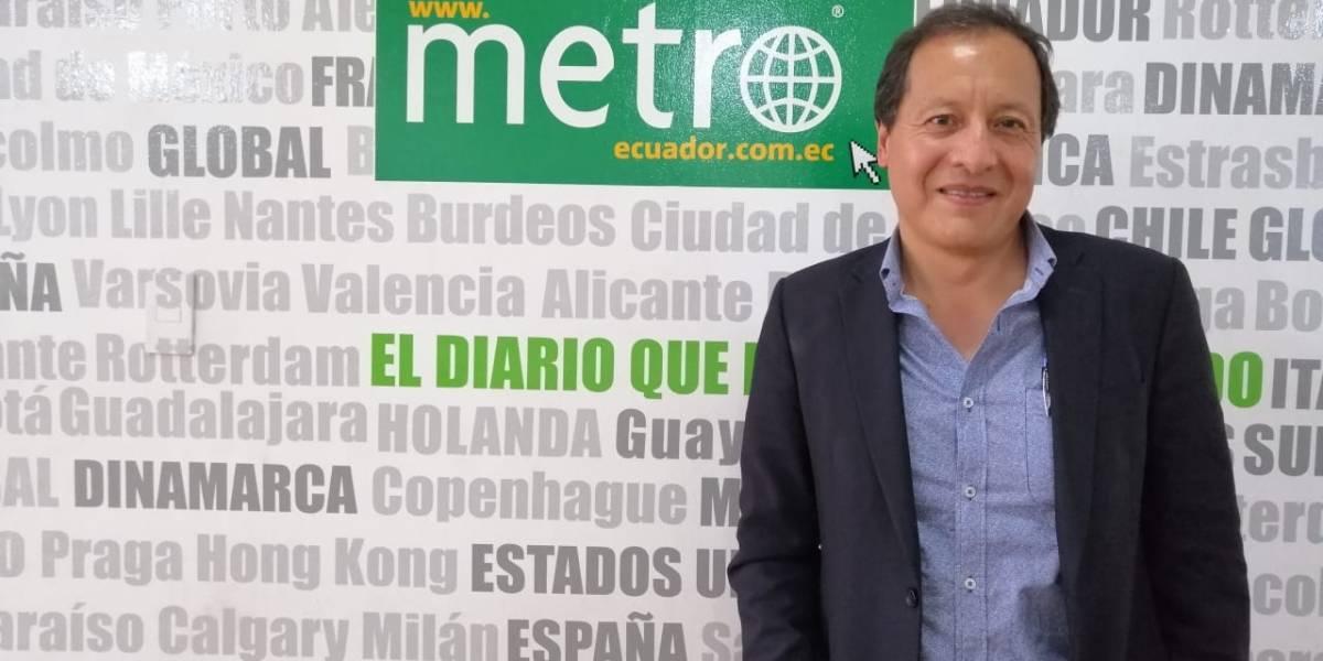 """Pablo Dávalos: """"Necesitamos personas que piensen en el siglo XXI"""""""