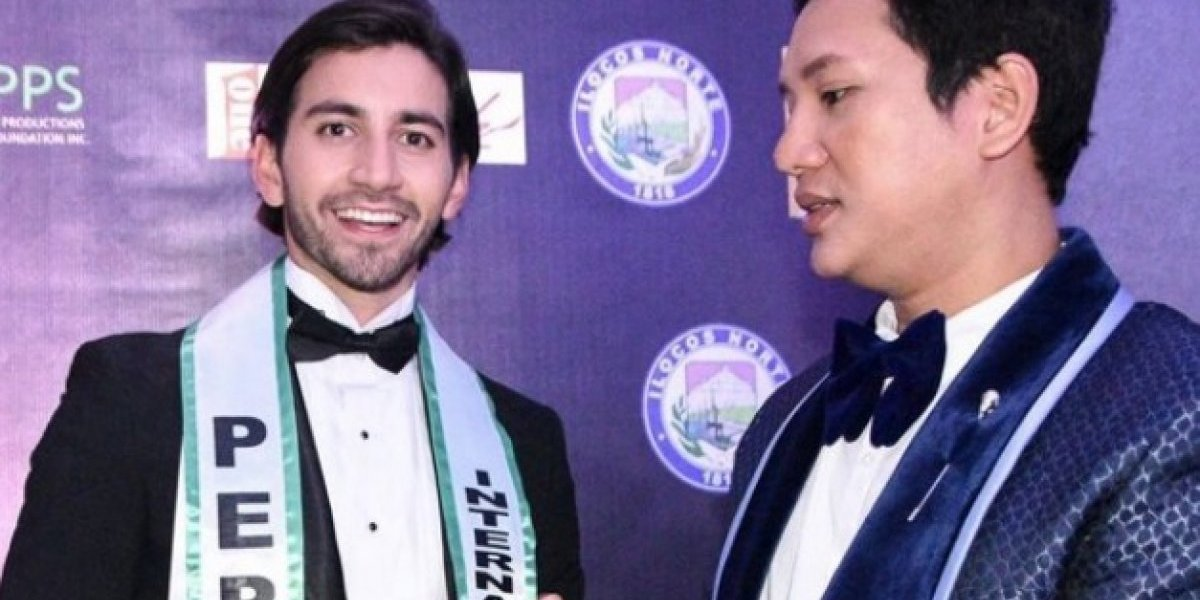 Julián Rivera se destaca en Mister International 2019