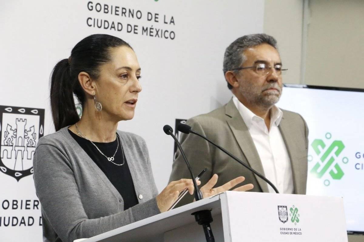 La Jefa de Gobierno y también el director del Sacmex anunciaron el proyecto. Cortesía.