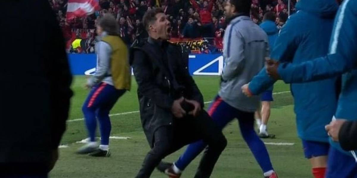 La UEFA expedienta al 'Cholo' Simeone