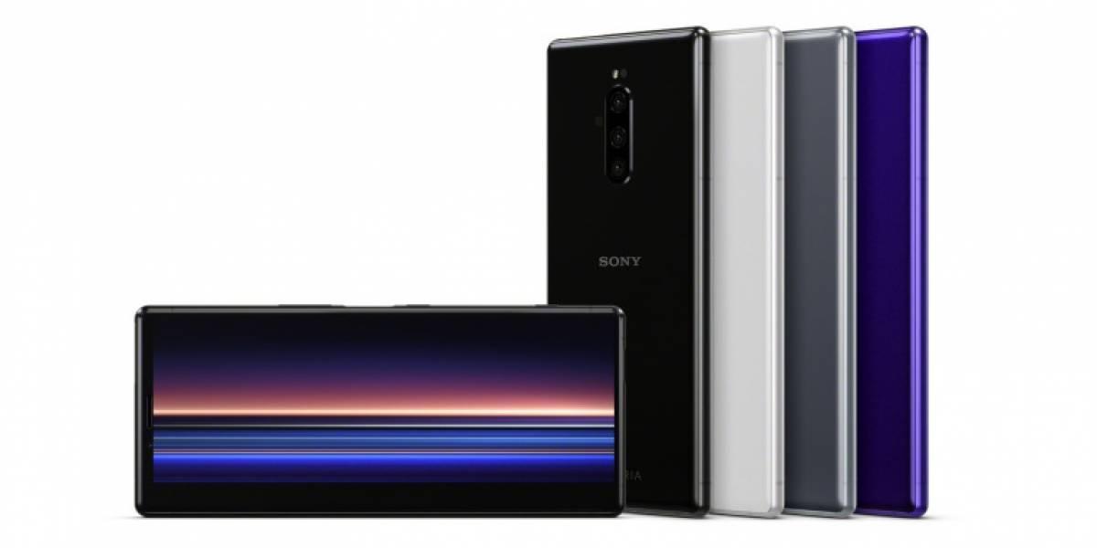 Sony lanzó el Xperia 1, el primer móvil con pantalla OLED 4K HDR del mundo