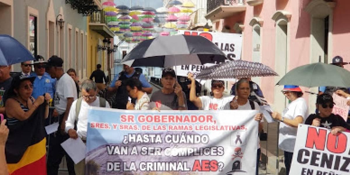 Activistas piden el retiro del reglamento de las cenizas de carbón