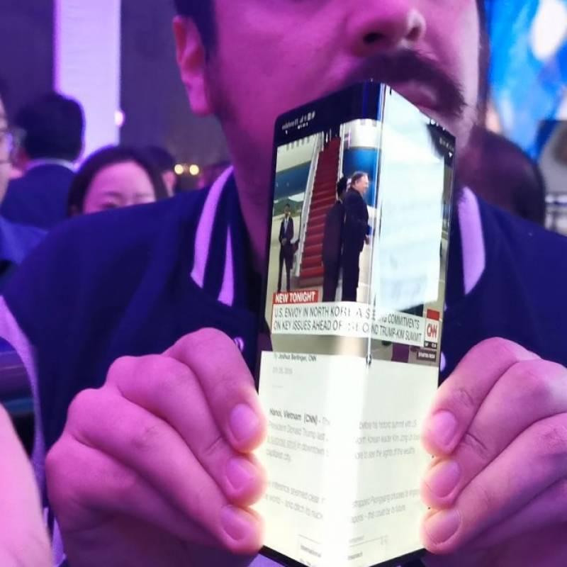 Divulgan imágenes del rediseñado móvil plegable Huawei Mate X