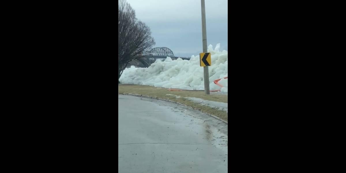 """A impressionante """"tsunami de gelo"""" que afeta os EUA e causa pânico em todo o mundo"""