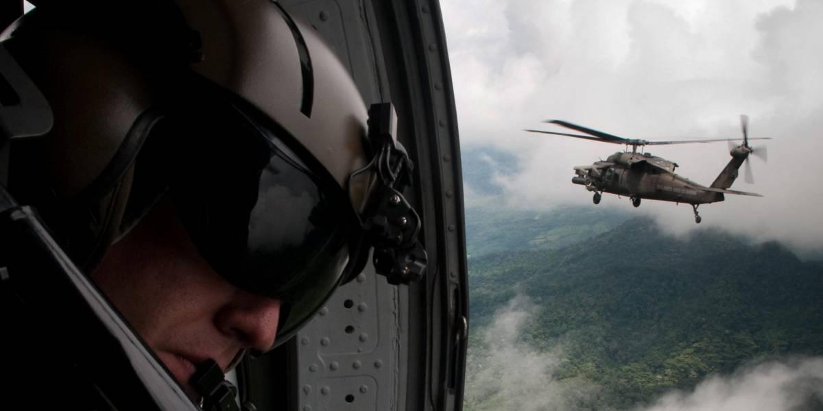Un policía muerto y 10 heridos al entrar en campo minado en Colombia