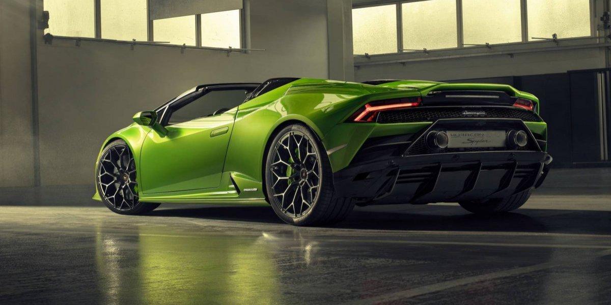 Confira as fotos da Lamborghini Huracan Evo Spyder, com estreia marcada no Salão de Genebra 2019