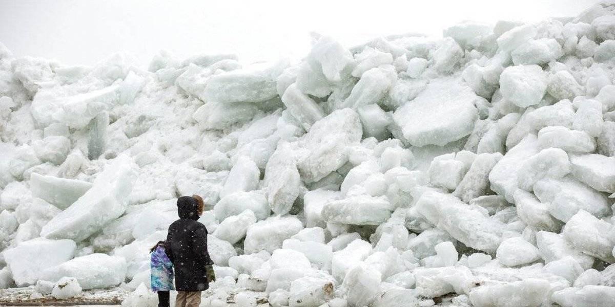 """""""Tsunami de hielo"""" afecta a EEUU y causa pánico en todo el mundo"""
