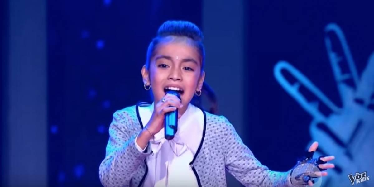 La participante de La Voz Kids que cantó, emocionó y hasta bailó como Michael Jackson