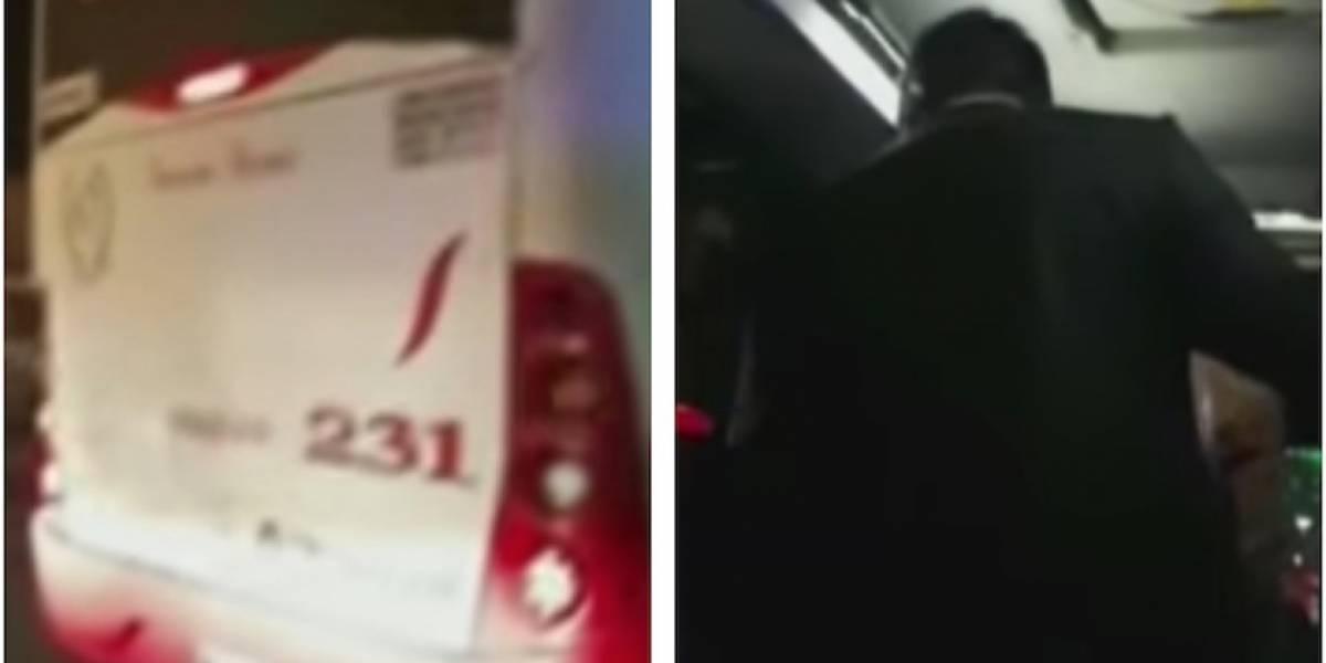 Delincuentes se subieron a un bus intermunicipal en Bogotá y atracaron a 15 pasajeros