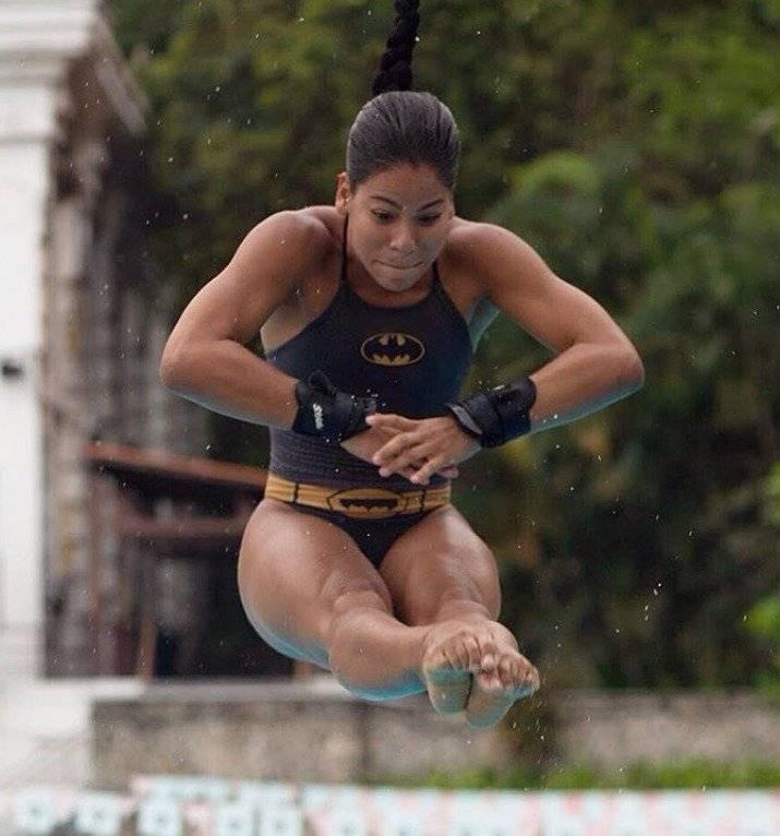 Ingrid Oliveira, atleta de la maratón sexual en Juegos Olímpicos Río 2016