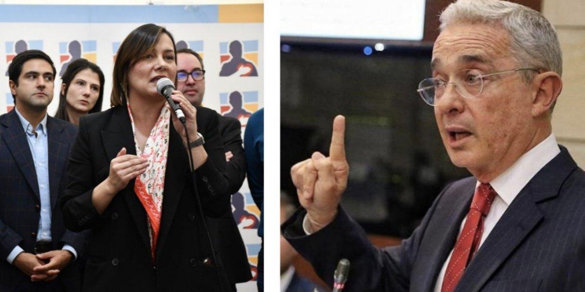 Critican a Uribe por abrupta interrupción a Ángela Garzón en medio de una reunión del CD