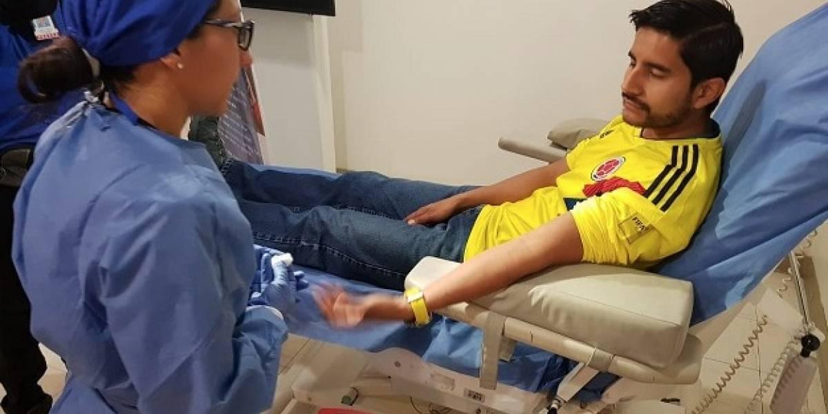Bogotá abre el primer punto fijo de donación de sangre