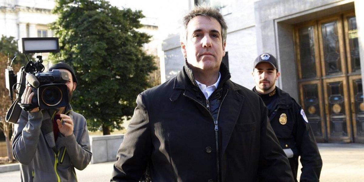 """Prevén que Cohen haga """"explosivas"""" denuncias contra Trump ante el Congreso"""