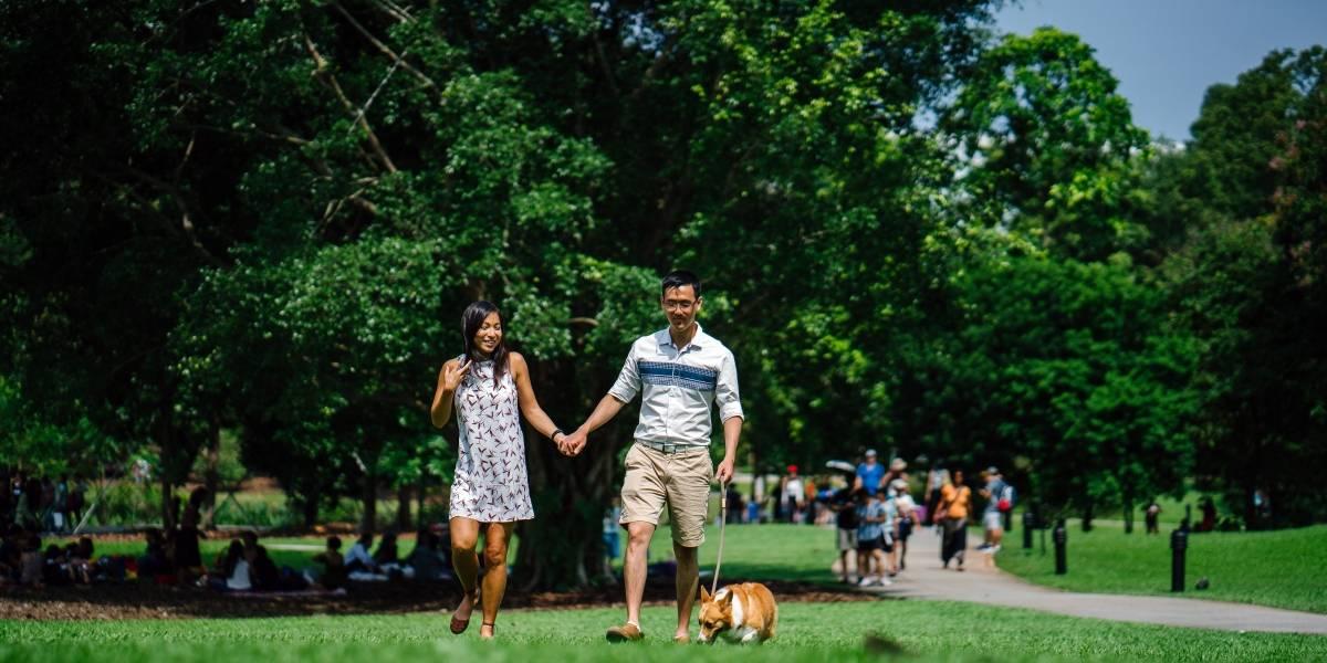 Visitar con frecuencia el parque te puede hacer más feliz, según estudio