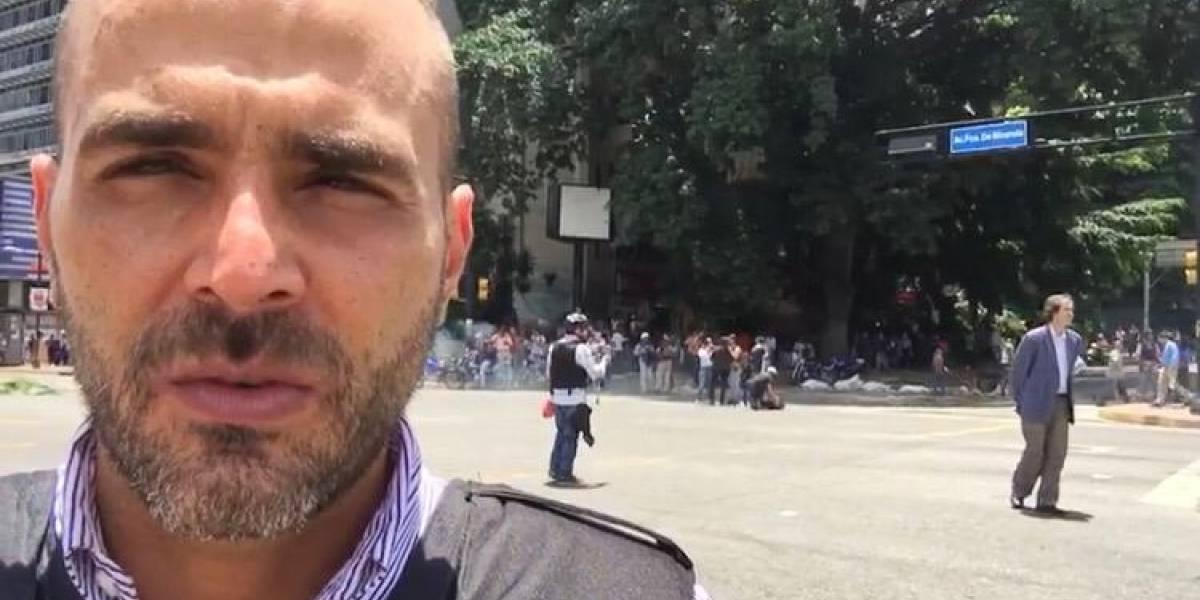 Lo que hicieron con el periodista de Telemundo que fue 'secuestrado' en Venezuela