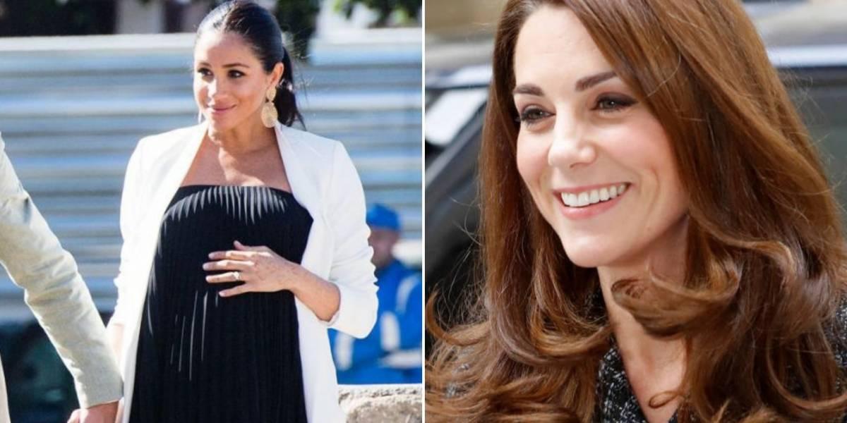 Meghan Markle se inspira em três looks de Kate Middleton e o resultado não poderia ser melhor