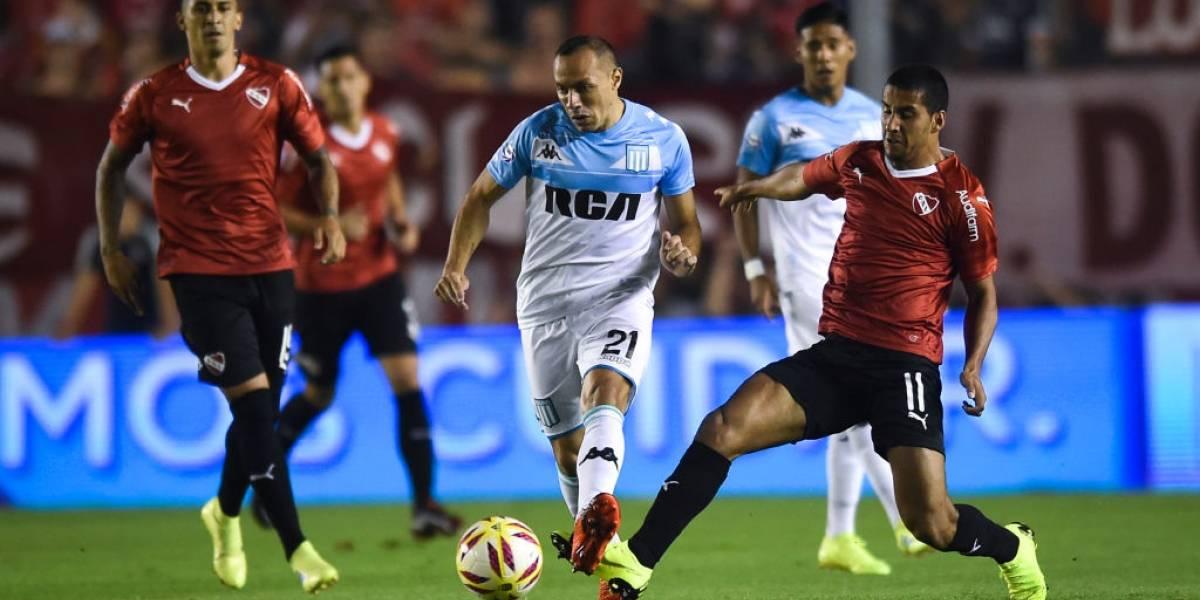 Marcelo Díaz se lesiona y queda fuera de partido clave de Racing en la Superliga argentina