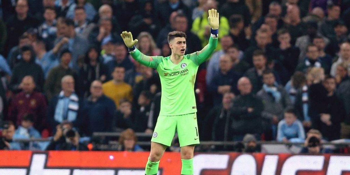 Kepa pagará caro su berrinche en la final entre Chelsea y Manchester City