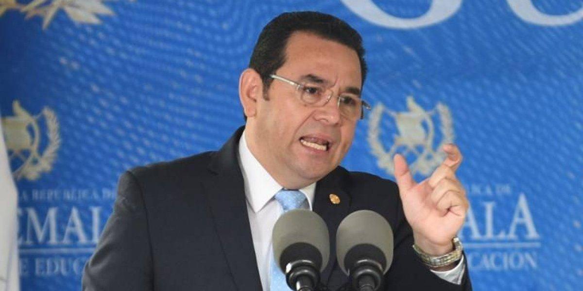 FECI indagará sobre el cheque del mandatario por supuesto fraude