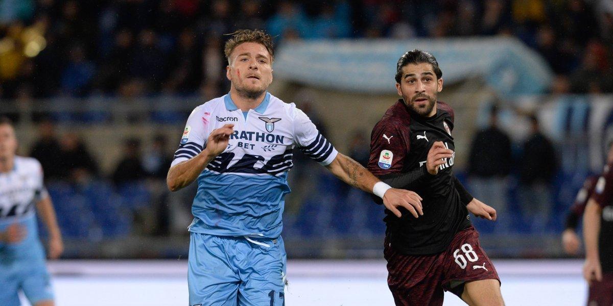Lazio vs. Milan: primer round de Coppa Italia