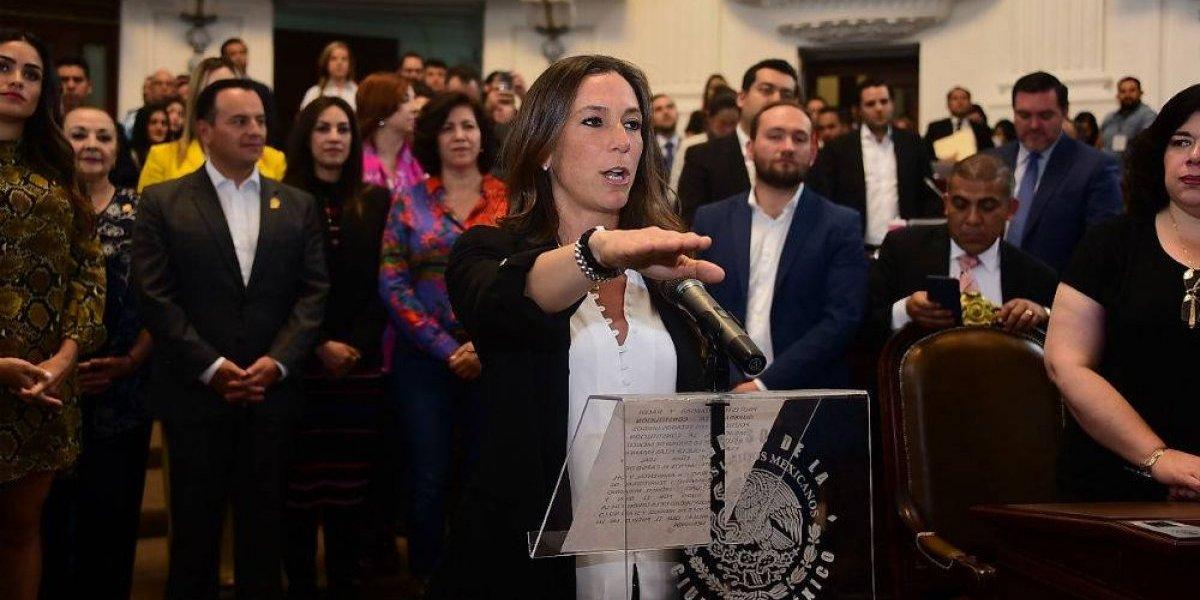 Congreso designa a Mariana Boy como procuradora ambiental de la CDMX