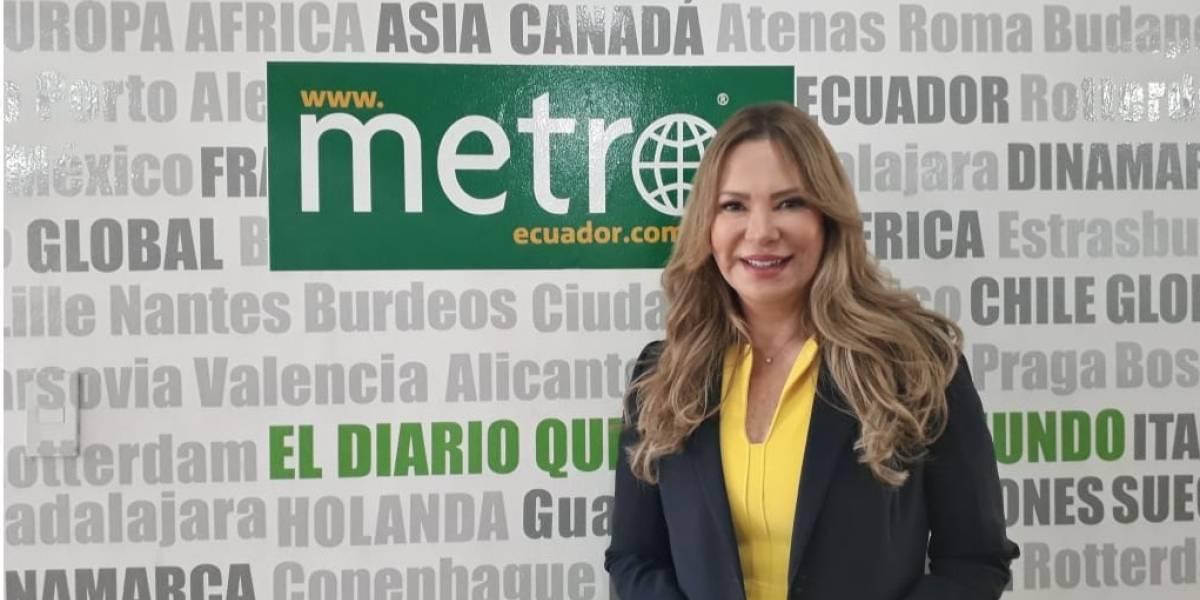 """María Sol Corral: """"Es hora que una mujer administre Quito"""""""