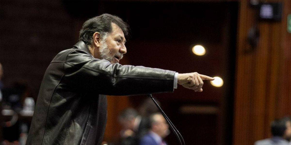 'Eres un provocador y farsante', arremete Fernández Noroña contra Jorge Ramos
