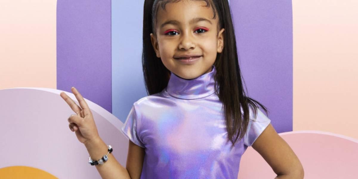 Aos 5 anos, filha de Kim Kardashian já virou capa de revista