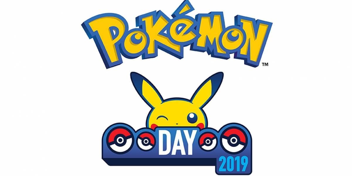 Pueden celebrar el Día de Pokémon con un evento especial en Pokémon GO