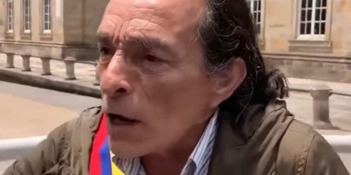 El actor que se autoproclamó presidente de Colombia y genera polémica