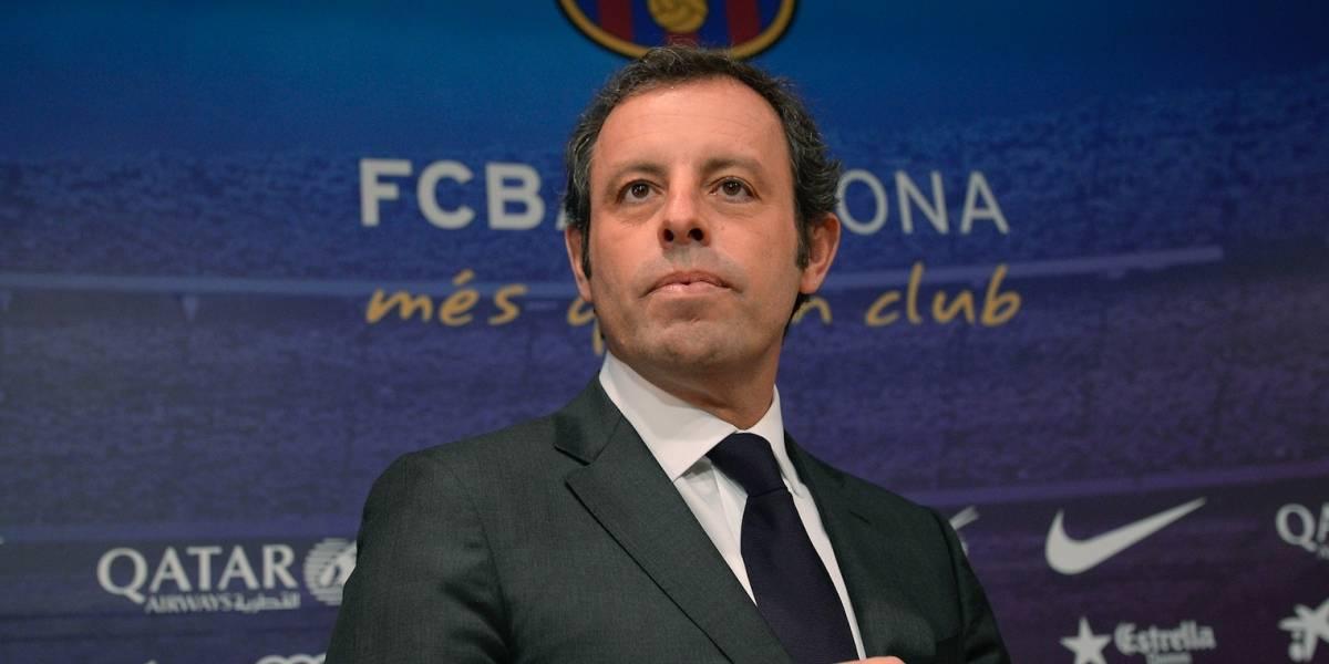 Ex presidente del Barcelona niega lavado de dinero