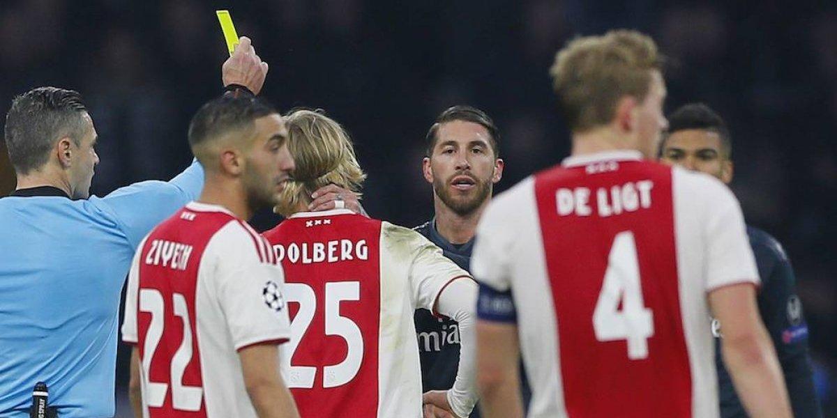 UEFA acusa formalmente a Sergio Ramos por forzar amonestación